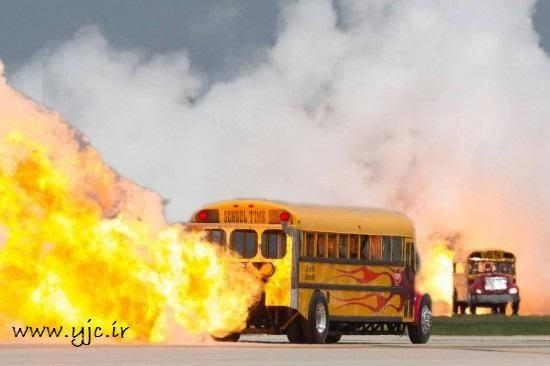 سریع ترین سرویس مدرسه تاریخ /عکس