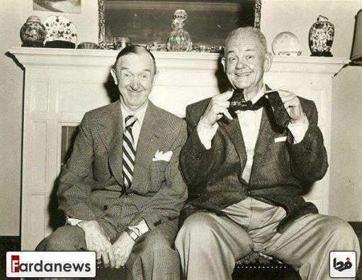 آخرین عکس مشترک لورل و هاردی