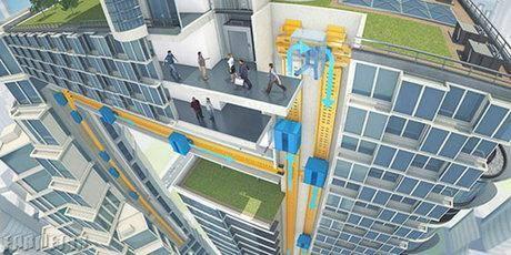 نسل آینده آسانسورها /عکس