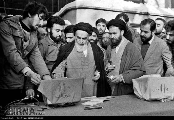 تصاویر/انتخابات اولین مجلس خبرگان