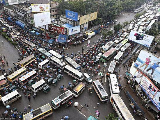 ترافیک از نوع بنگلادشی/عکس