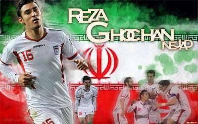 رضا قوچان نژاد بين ستاره های جام ملت های آسيا