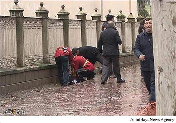حمله مسلحانه به دفتر اردوغان/تصاویر
