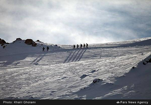 تصاویر/طبیعت برفی کوه میشو