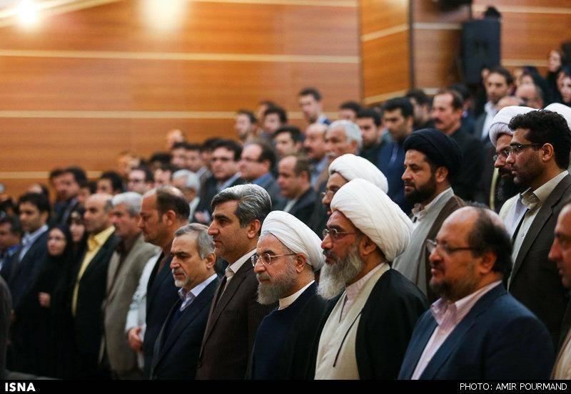 دیدار روحانی با علمای بوشهر/تصاویر