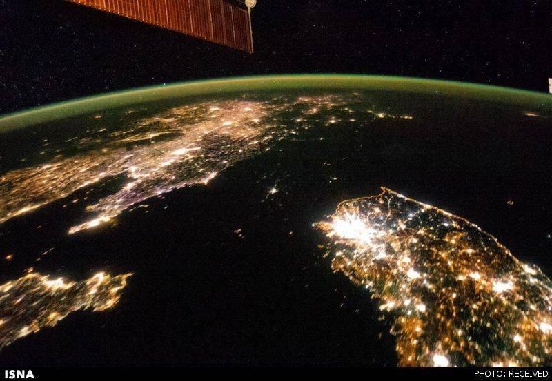 ناسا: کره شمالی تاریک است!/عکس