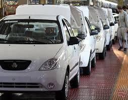 21:55 - رشد 127 درصدی تولید خودرو تیبا