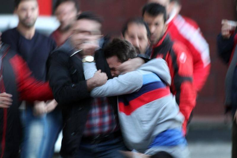 درگیری در تمرین پرسپولیس/تصاویر