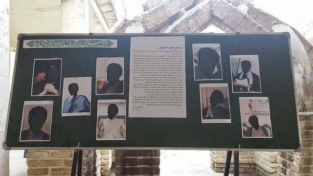 عکس/ واکنش متفاوت دانشجویان هنر به ممنوعالتصویر اعلام کردن خاتمی