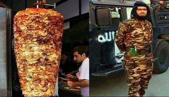 تشبیه یک داعشیبه کبابترکی!/عکس