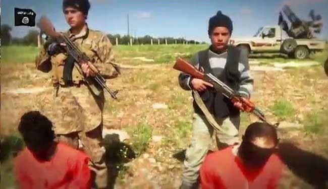 اولین اعدام گروهی کودکان داعشی/تصاویر