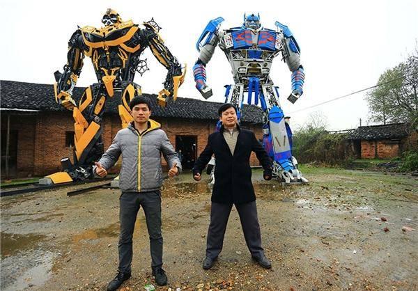 رباتهای غولپیکر چینی/تصاویر