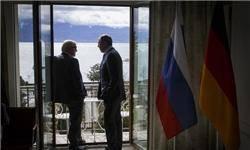 دیدار وزرای خارجه روسیه و آلمان در لوزان