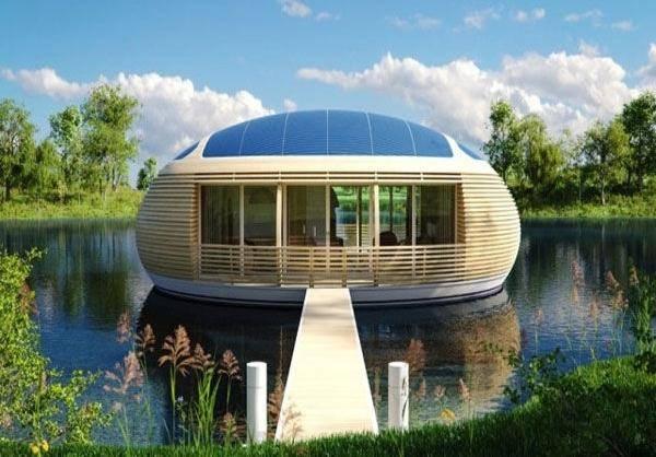 مدرنترین خانه شناور/تصاویر