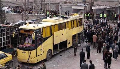 اتوبوس زائران ايرانی در عراق منفجر شد، کشته شدن يک زائر ايرانی