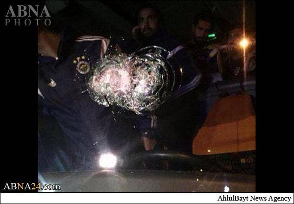 حمله مسلحانه به اتوبوس فنرباغچه/تصاویر