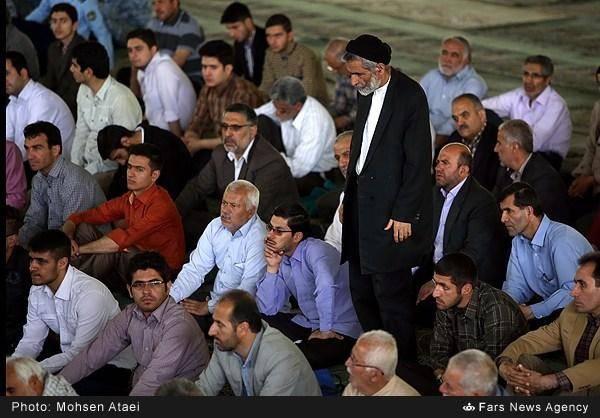 نماز جمعه امروز تهران/تصاویر
