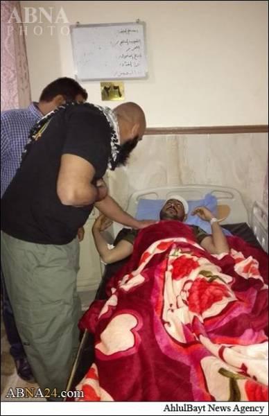 عیادت ابوعزرائیل ازنیروهای مردمی/تصاویر