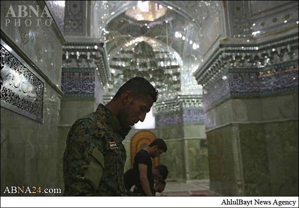 تصاویری جدید از حرم امامین عسکریین(ع)