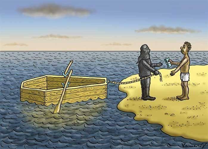 تجارت در آفریقا/کاریکاتور