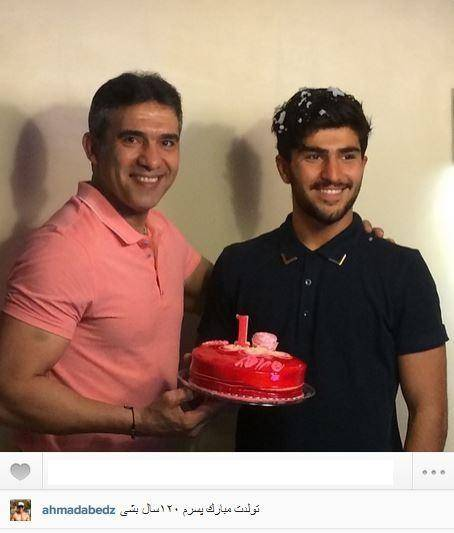جشن تولد عابدزاده درحضورعقاب!/عکس