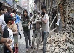 بیش از هفت هزار کشته و چهارده هزار زخمی بر اثر زلزله نپال تاکنون