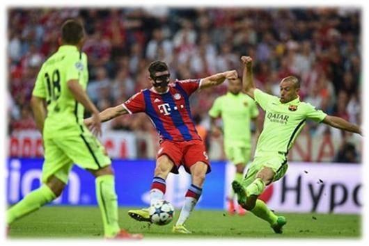 بایر مونیخ برد، بارسلونا به فینال رفت!