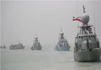 آژير اعلام جنگ در ناوگروه ۳۴ نيروی دريايی ارتش