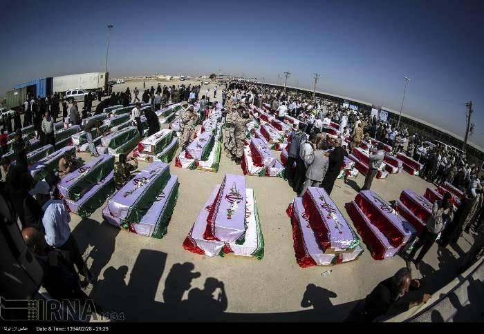 عکس/ بازگشت ۲۷۰ شهید دفاع مقدس به خاک وطن