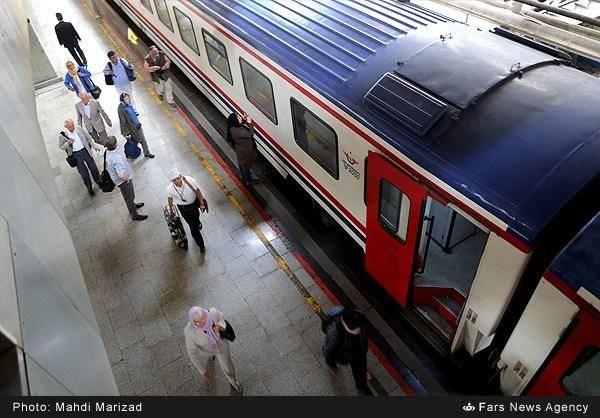 قطار هزار و یک شب به تهران رسید/تصاویر