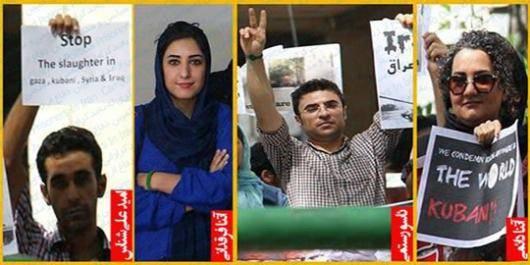 آتنا دائمی، آتنا فرقدانی، امید علی شناس و ئاسو رستمی، چهار فعال حوزه حقوق کودکان که هماکنون در زندان اوین در حبس هستند، در مجموع به تحمل ۴۳ سال و ۹ ماه زندان محکوم شدند