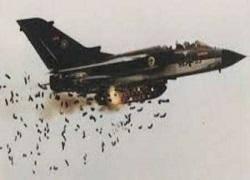 جنگنده های متجاوز عربستانی با بمب های خوشه ای به یمن حمله کردند