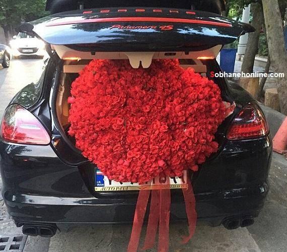 ابتکار یک ماشین عروس تهرانی/عکس