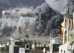 45 موشک به پایگاه های سعودی اصابت کرد
