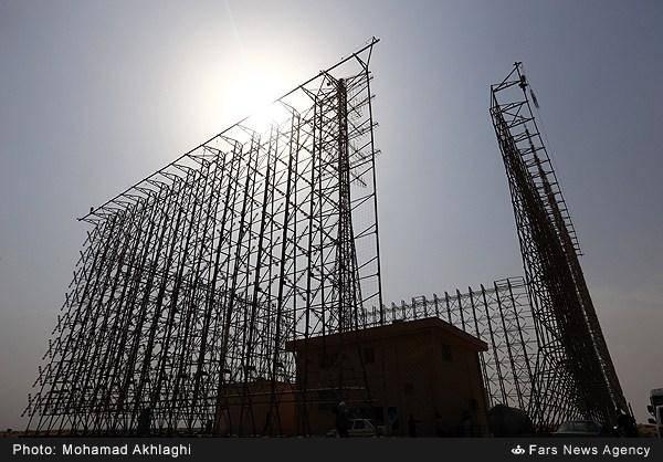 تصاویر:راهاندازی رادار ۱۱۰۰کیلومتری قدیر