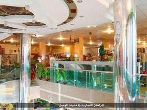 تصاویری جالب از مرکز خرید مجلل داعش