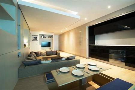 فشرده ترین آپارتمان جهان+عکس