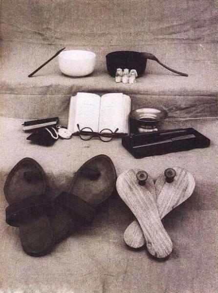 عکس:دارایی گاندی پس از مرگ