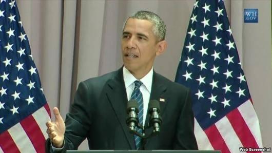 رئیس جمهوری آمریکا در ادامه تلاشهای کاخ سفید برای اقناع افکار عمومی شهروندان آمریکا در حمایت از توافق هستهای؛ روز چهارشنبه در دانشگاه آمریکن شهر واشنگتن سخنرانی کرد