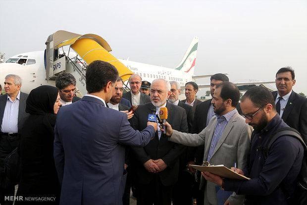 تصاویر:دیدارهای ظریف با مقامات پاکستانی