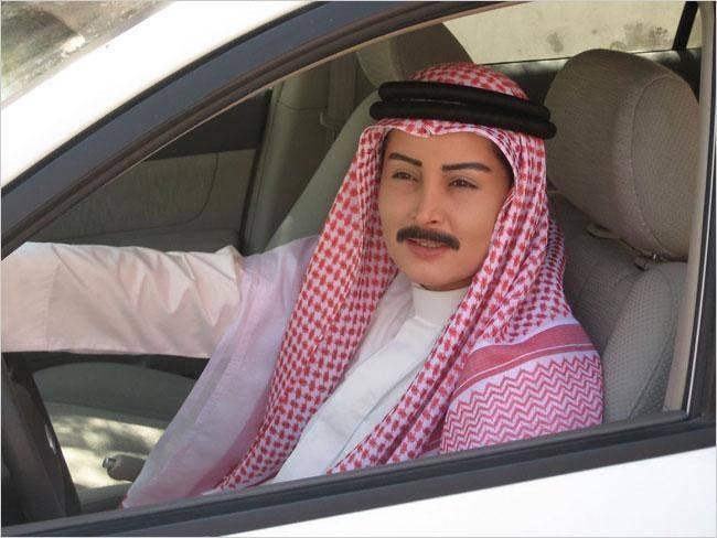کلک عجیب زنان عربستانی برای رانندگی! +تصاویر