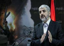 مشعل مذاکرات غیرمستقیم حماس با اسرائیل درباره آتشبس را تایید کرد