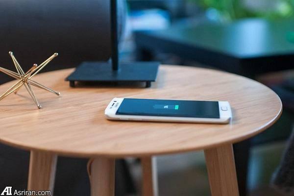 مبلمانی با توانایی شارژ گوشی!+تصاویر
