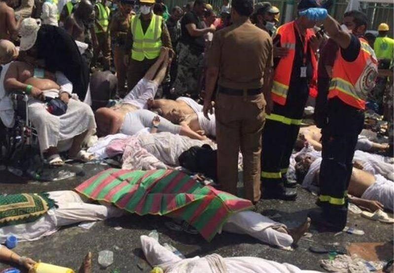 دستکم 220 نفر هنگام «رمی جمرات» در منا زیر دست و پا کشته شدند/ احتمال کشته شدن تعدادی از ایرانیان + عکس
