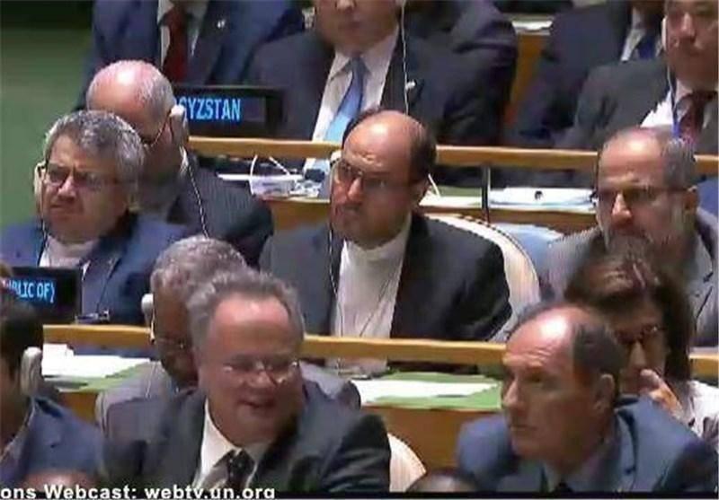 مقامات ایرانی که در سخنرانی اوباما بودند+عکس