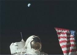 ناسا تمام تصاویر سفر به ماه را منتشر کرد+عکس