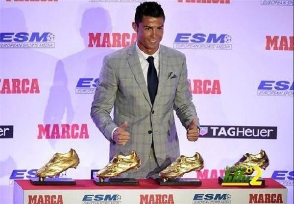 چهارمین کفش طلای کریستیانو رونالدو+عکس