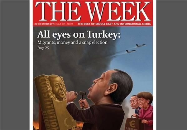 طعنه مجله «ویک» به اردوغان +عکس
