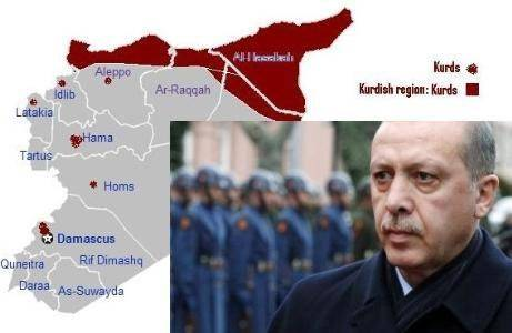 اردوغان رئیسجمهور ترکیه روز شنبه ۲۴ اکتبر بار دیگر مدعی شد کردها در تلاشند تا کنترل شمال سوریه را در دست بگیرند و آنکارا اجازه نمیدهد این اتفاق بیفتد