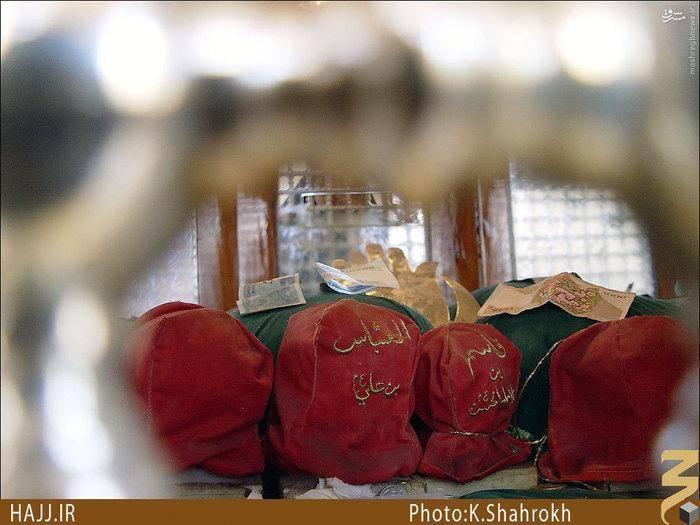 جایي كه سرهاي مبارك شهداي كربلا را نگه داشتند+عکس